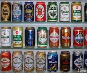 Rompicapo di Lattine di birra