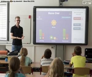 Rompicapo di Lavagna interattiva multimediale