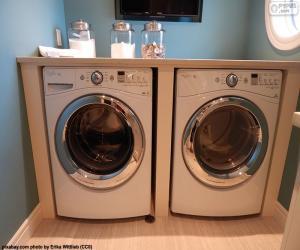 Rompicapo di Lavatrice e asciugatrice