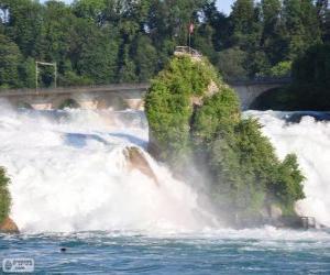 Rompicapo di Le cascate del Reno, Svizzera