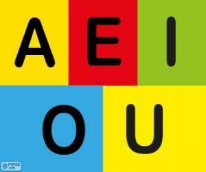 Rompicapo di Le vocali A, E, I, O, U