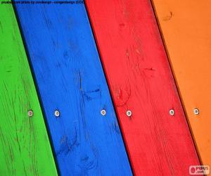 Rompicapo di Legno di vari colori