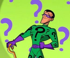 Rompicapo di L'Enigmista o Enigma è un supercriminale ossessionati congli giochi di intelligenza e un nemico di Batman