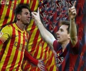 Rompicapo di Leo Messi, capocannoniere nella storia del FC Barcelona