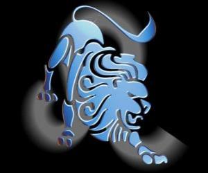 Rompicapo di Leone. Il Leone. Quinto segno dello zodiaco. Nome latino è Leo
