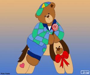 Rompicapo di Lettera A degli orsi