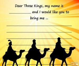 Rompicapo di Lettera ai Re Magi