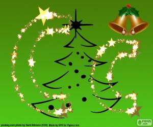 Rompicapo di Lettera C di Natale