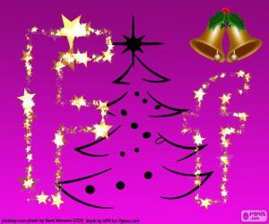 Rompicapo di Lettera F di Natale