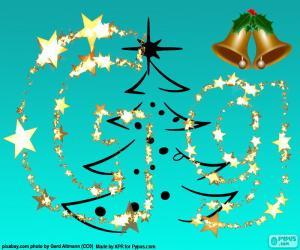 Rompicapo di Lettera G una lettera di Natale