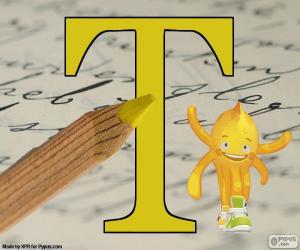 Rompicapo di Lettera greca Tau