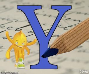 Rompicapo di Lettera greca Ypsilon