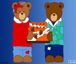Rompicapo di Lettera H di orsi