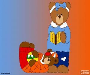 Rompicapo di Lettera J di orsi