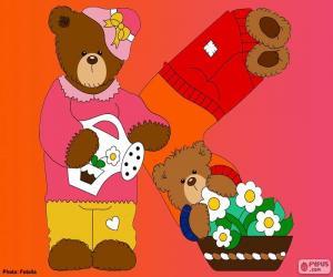 Rompicapo di Lettera K di orsi
