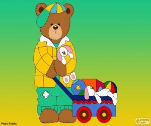Rompicapo di Lettera L di orsi