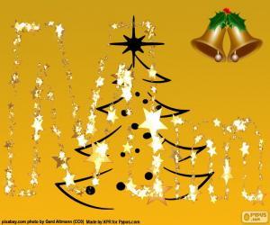 Rompicapo di Lettera M di Natale