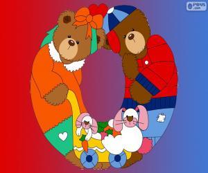 Rompicapo di Lettera O di orsi