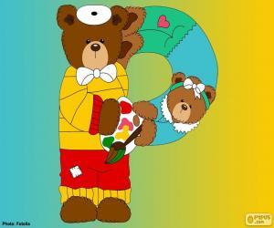 Rompicapo di Lettera P di orsi