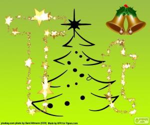 Rompicapo di Lettera T di Natale