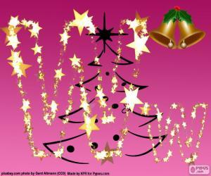 Rompicapo di Lettera W Natale