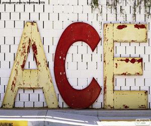 Rompicapo di Lettere A, C ed E