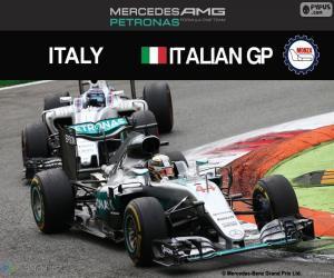 Rompicapo di Lewis Hamilton, G.P Italia 2016