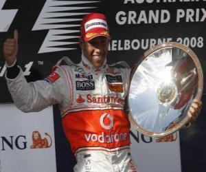 Rompicapo di Lewis Hamilton nel pódium