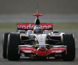 Rompicapo di Lewis Hamilton pilota il F1