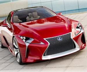 Rompicapo di Lexus LF-LC Hybrid Sport Coupe Concept
