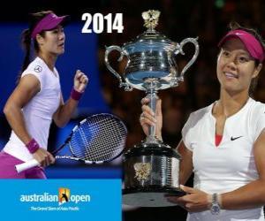Rompicapo di Li Na campione Open Australia 2014