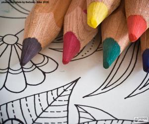 Rompicapo di Libro da colorare
