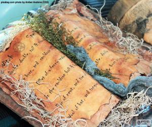Rompicapo di Libro degli incantesimi
