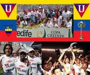 Rompicapo di Liga Deportiva Universitaria de Quito Champion 2010 (ECUADOR)