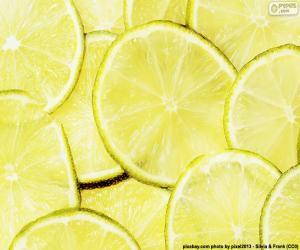 Rompicapo di Lime, frutta