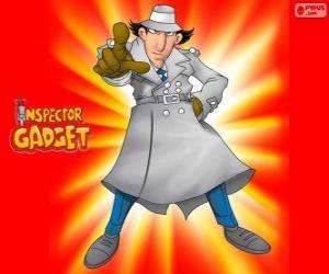 Rompicapo di L'ispettore Gadget è vestito come il famoso Ispettore Closeau