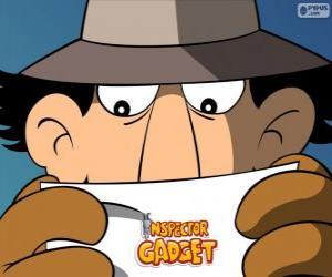 Rompicapo di L'ispettore Gadget legge una missione