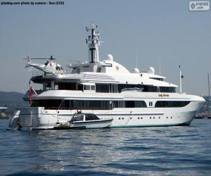 Rompicapo di Lo yacht Lady Marina
