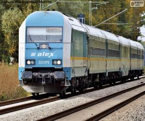 Rompicapo di Locomotiva Alex Hercules Classe 233