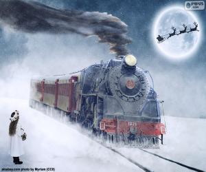 Rompicapo di Locomotiva di vapore di Natale