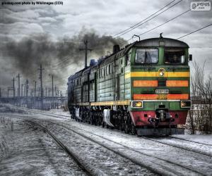 Rompicapo di Locomotiva diesel