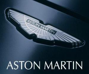 Rompicapo di Logo Aston Martin, casa automobilistica britannica