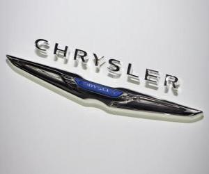Rompicapo di Logo Chrysler. Marchio di automobili degli Stati Uniti