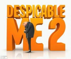 Rompicapo di Logo del film Cattivissimo me 2