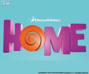 Rompicapo di Logo del film Home