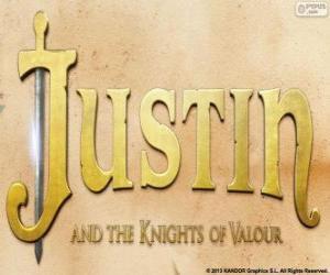 Rompicapo di Logo del film Justin e i cavalieri valorosi