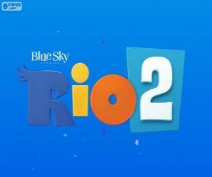Rompicapo di Logo del film Rio 2