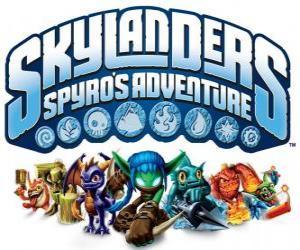 Rompicapo di Logo del videogioco di Spyro il Drago, Skylanders: Le avventure di Spyro