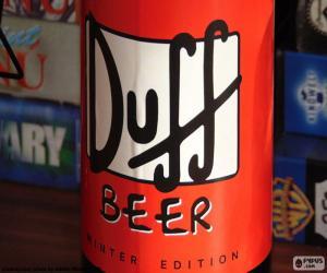 Rompicapo di Logo della birra Duff
