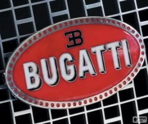 Rompicapo di Logo della Bugatti, marchio francese di origine italiana